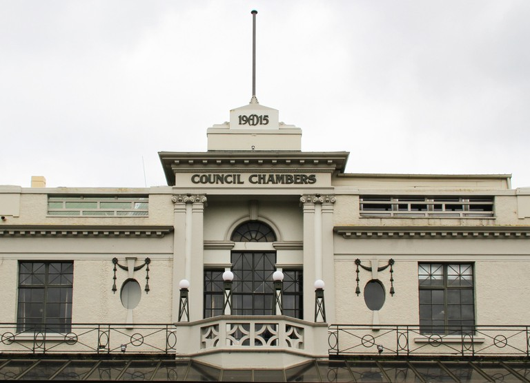 Council Chambers Building in Hastings