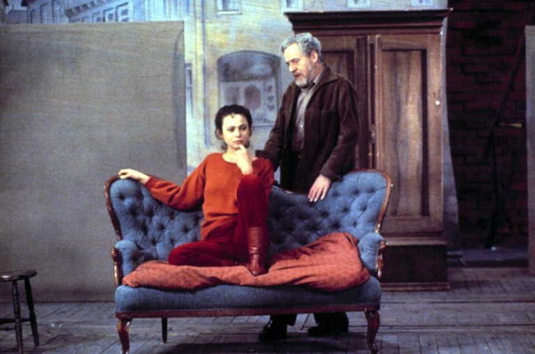 Lena Olin and Erland Josephson in After the Rehearsal