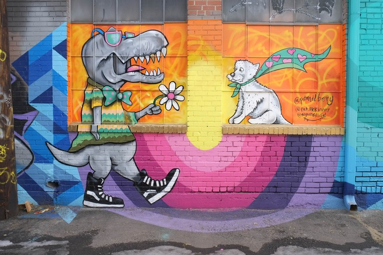 RiNo art alley