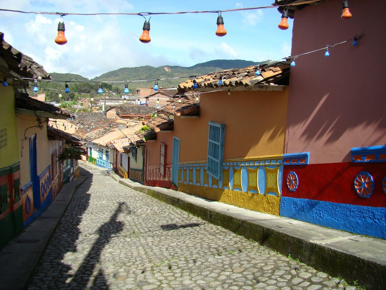 The lovely streets of Guatape