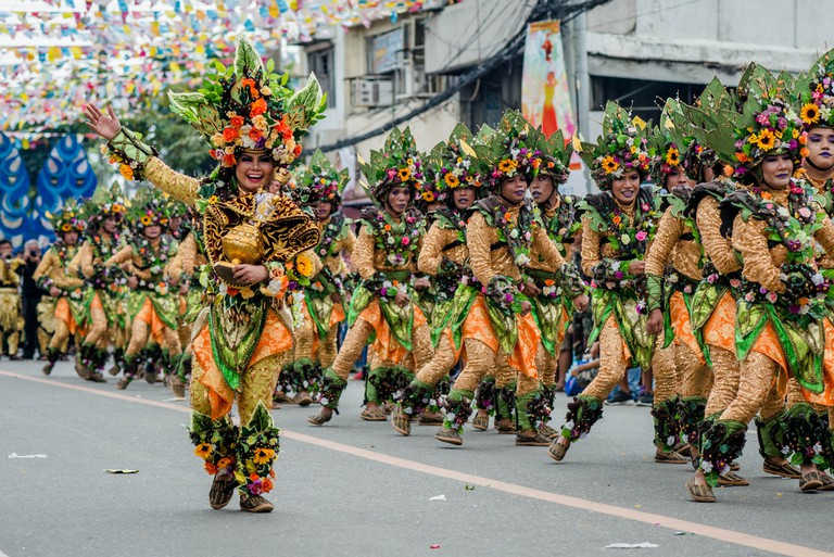Parade at Sinulog Festival