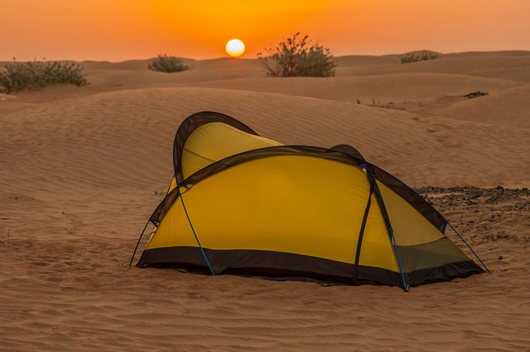 Camp in Oman