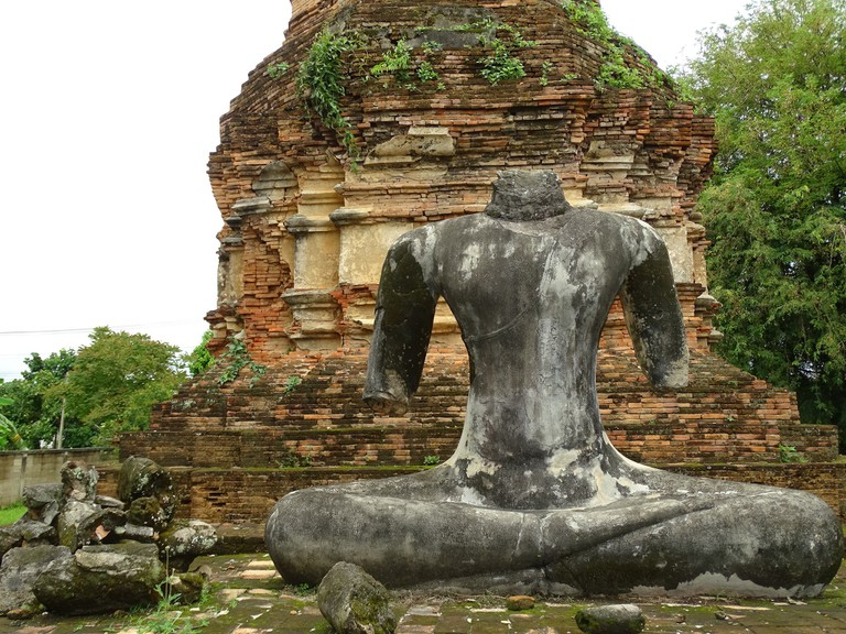 Temple ruins in Chiang Saen