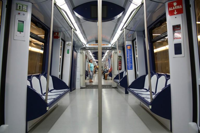 Madrid's metro