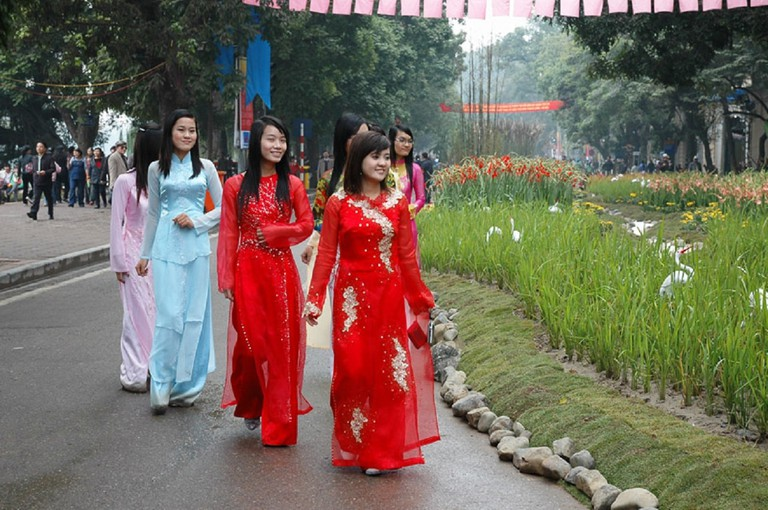 The Vietnamese ao dai | © Tran Trung Kien/Flickr