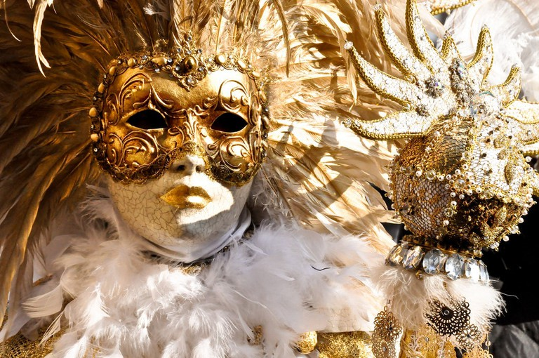 It's essential to pull out all the stops at Carnevale in Venice | © Giorgio Minguzzi/Flickr