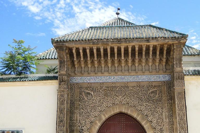 Gate outside Meknes's Royal Palace