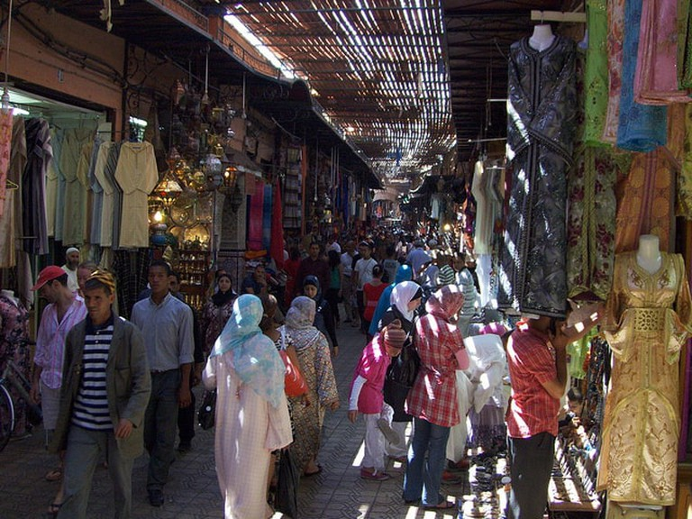 Marrakesh will let you wander with no end point in mind