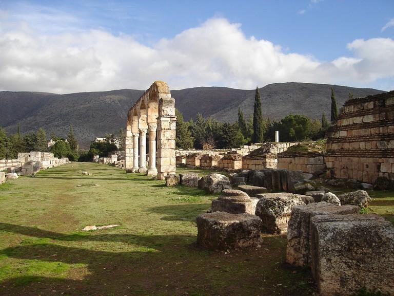 Ummayad Ruins in Anjar, Beqaa