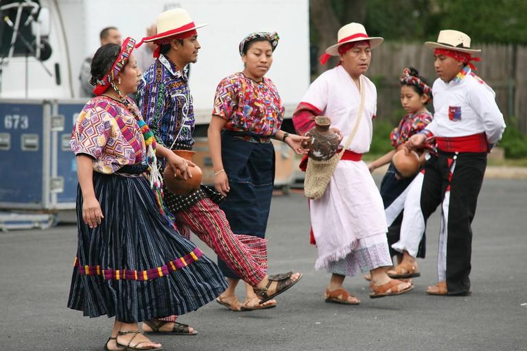 Mayan folk dance, Guatemala