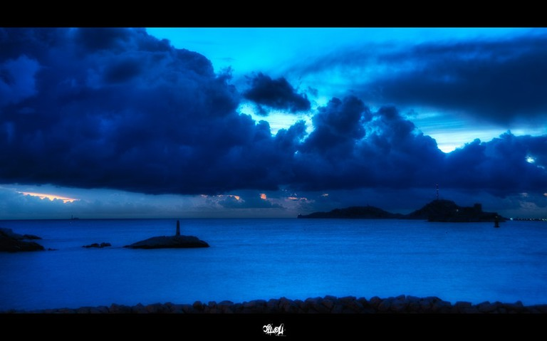 Experience the romantic blue hour