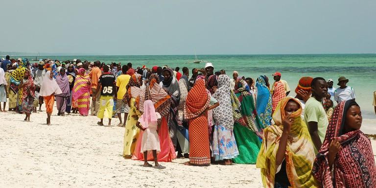Traditional Zanzibar dress