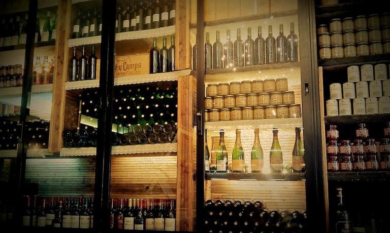 Wine shop in Valencia, Spain I