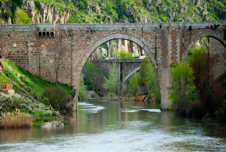 The Alcántara bridge © Angel Sotomayor Rodríguez / Flickr