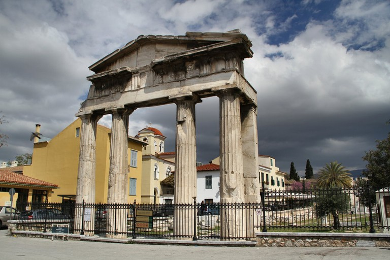 Portico of the Roman Agora at Athens