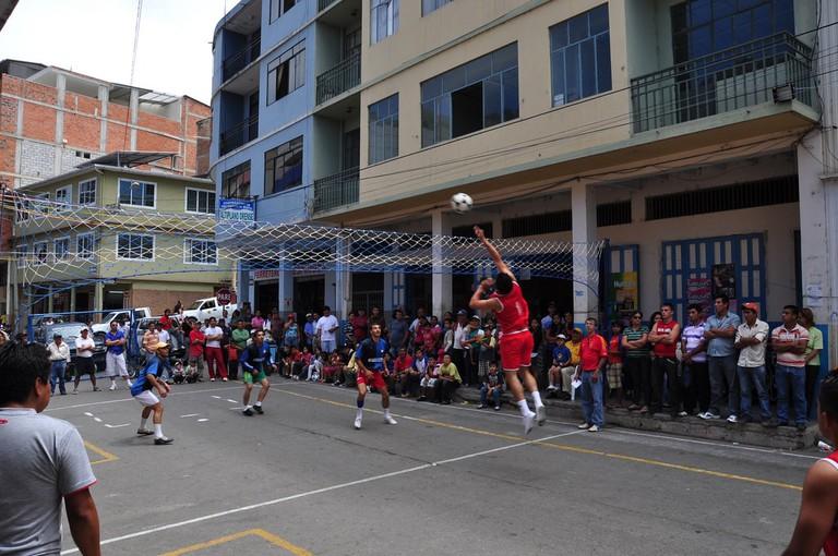 Fiestas patronales del Mercado Central de Piñas