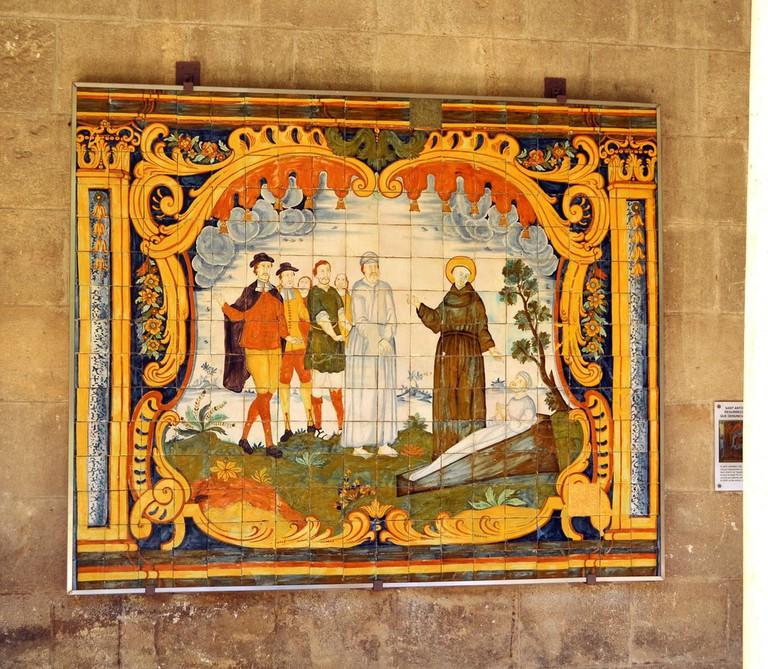 Mosaic at the Sant Francesc convent © Angela Llop
