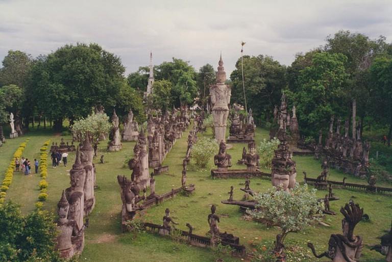 Vientiane, Buddha Park | © Arian Zwegers/Flickr