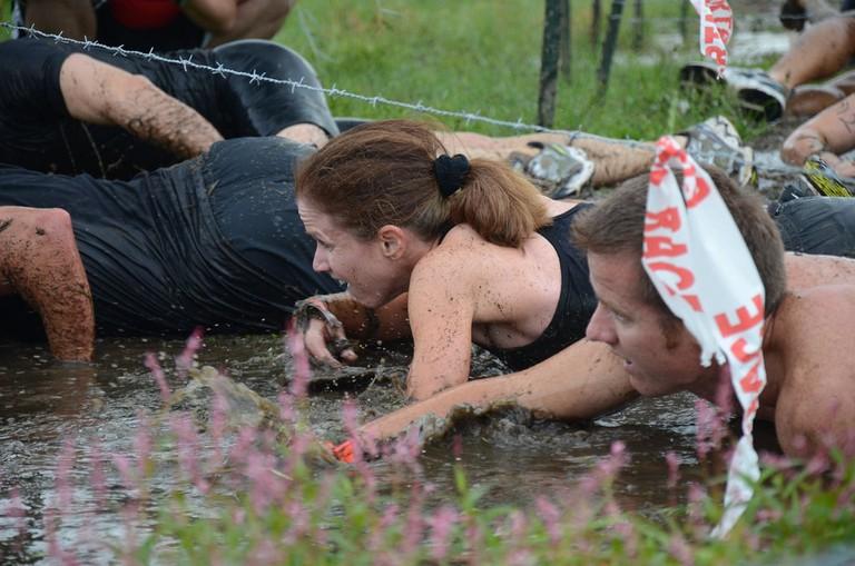 The Spartan Race isn't easy