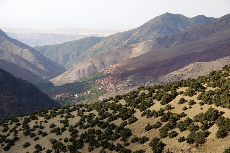Morocco's tallest peak, Jbel Toubkal