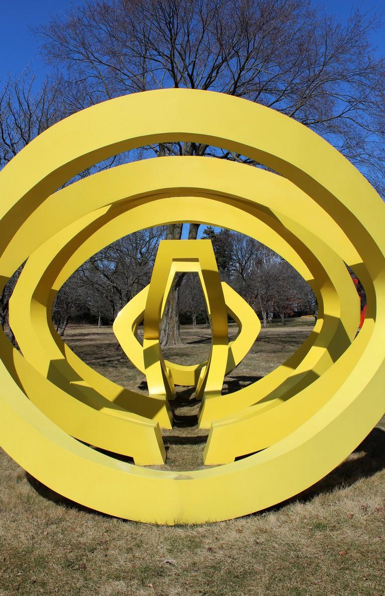 Trio in Lynden Sculpture Garden, Milwaukee