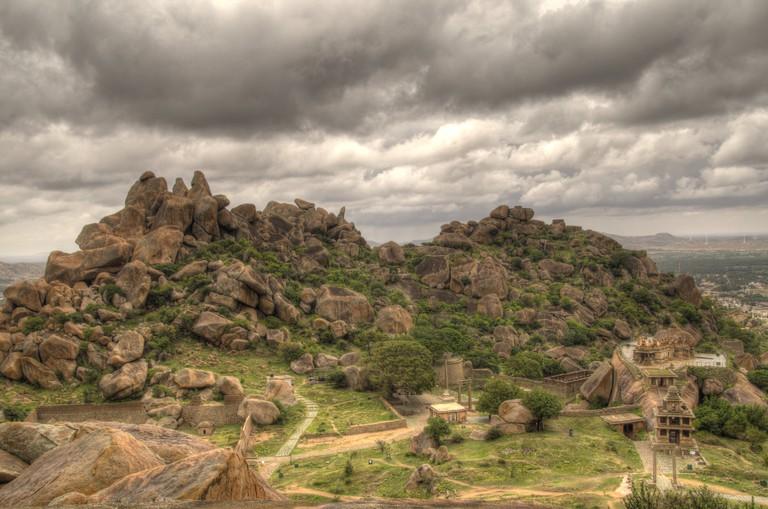 A view of Chitradurga Fort in Karnataka