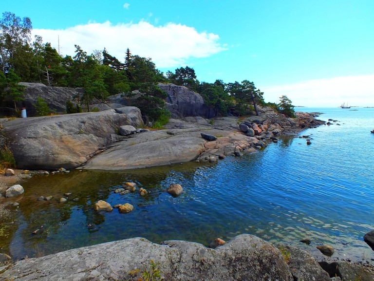 Helsinki coast