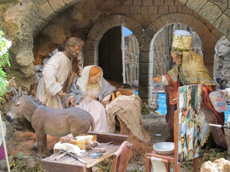 Belen nativity scene, Spain | ©El Coleccionista de Instantes / Flickr