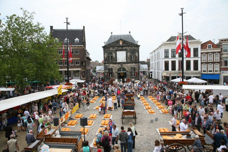Gouda's cheese market