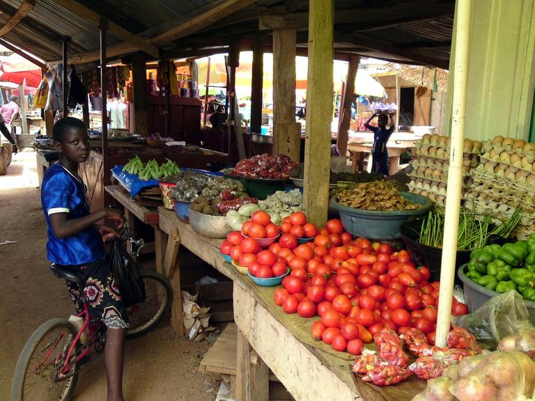 Bolga market