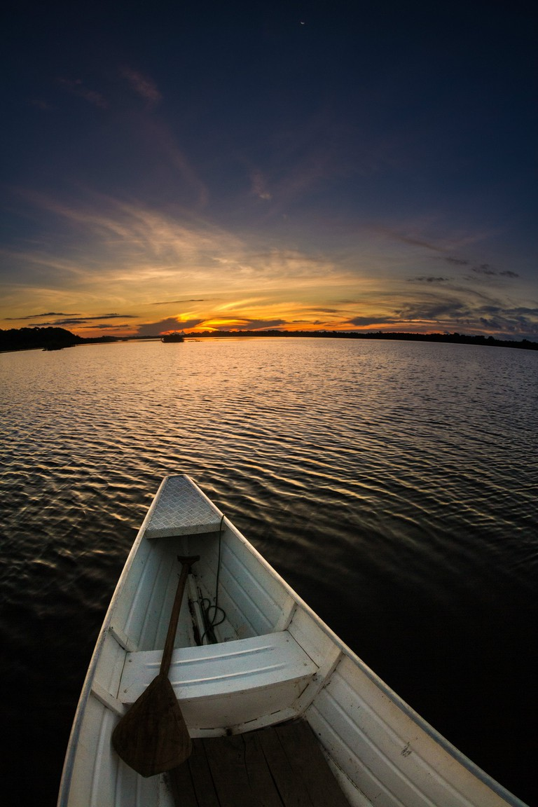 Canoeing down the Amazon is just one of the adventures on offer in Brazil