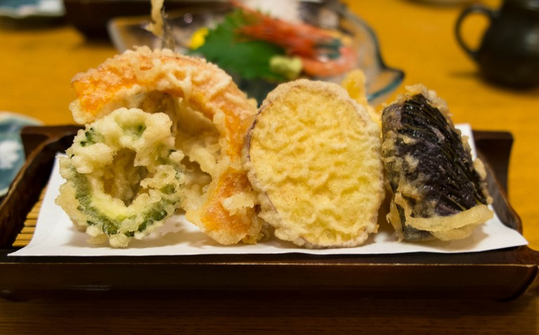Tempura is one of the many Japanese foods that is not gluten-free