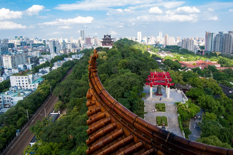 View of Wuhan from Yellow Crane Tower