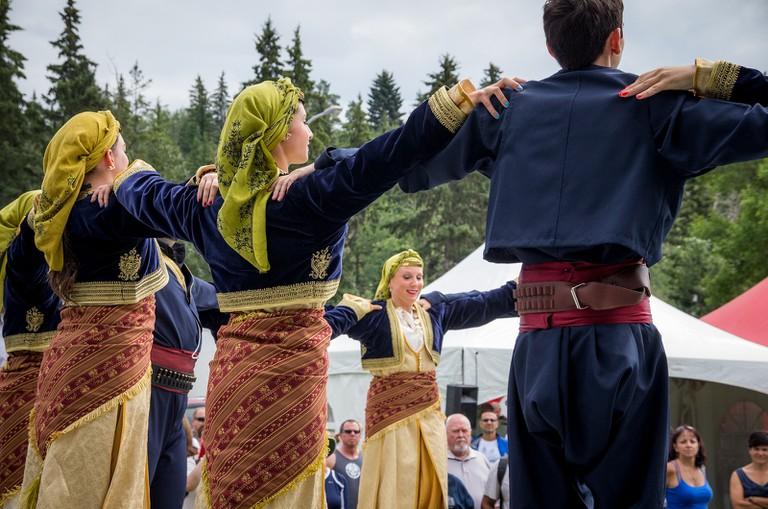 Traditional Greek Dance Performance │