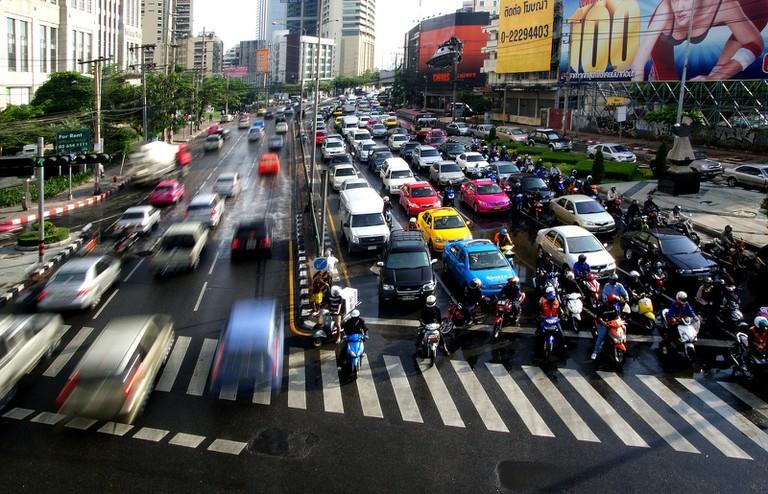 Busy Bangkok