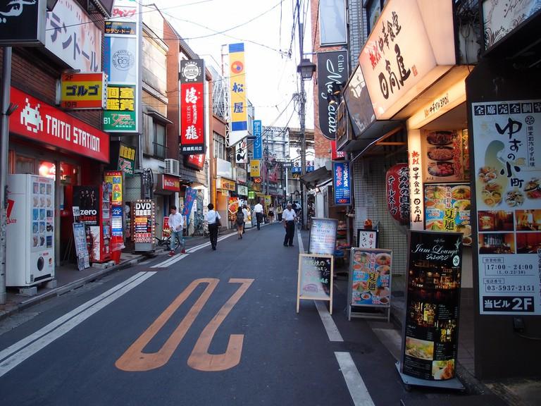 A street in Takadanobaba