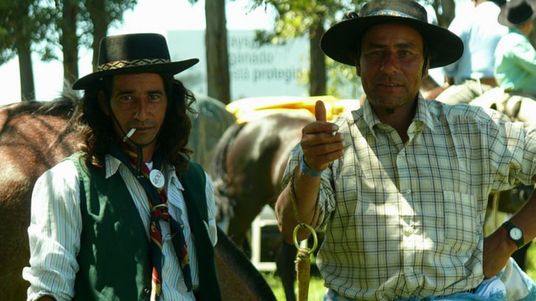 Two contemporary Uruguayan gauchos