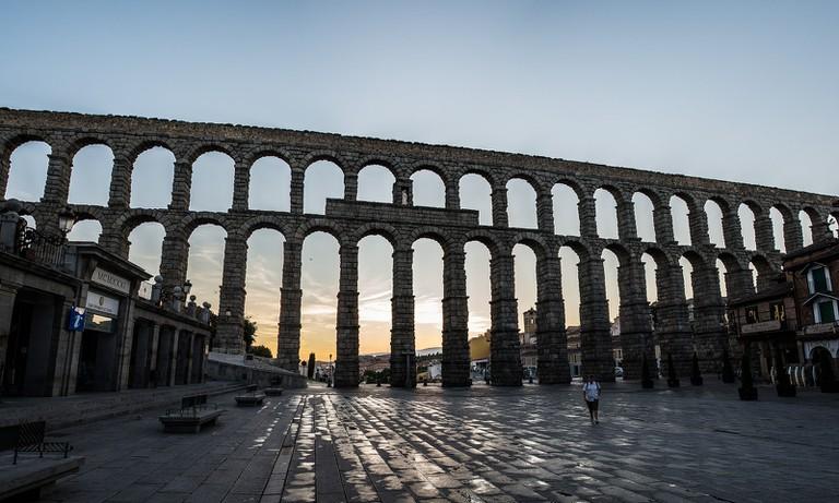 Aqueduct Segovia © Fernando García