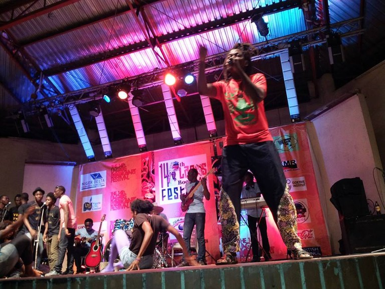 Crown Troupe of Africa Performing during LABAF 2016
