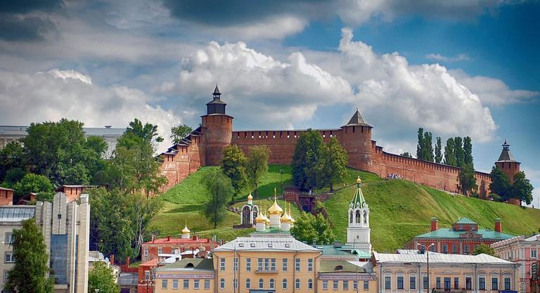 View of the Nizhny Novgorod Kremlin
