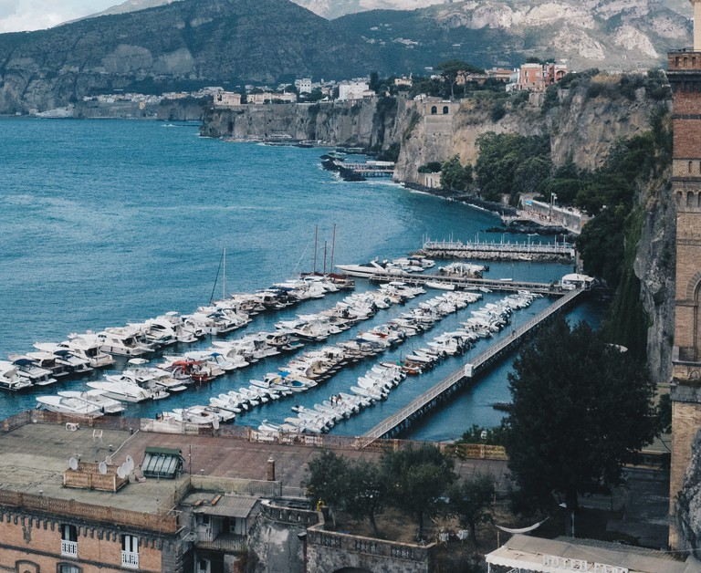 Sorrento, Italy is just one of the places you could visit while interrailing
