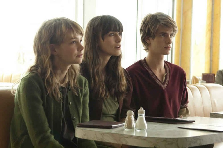 Carey Mulligan, Keira Knightley, and Andrew Garfield in Never Let Me Go