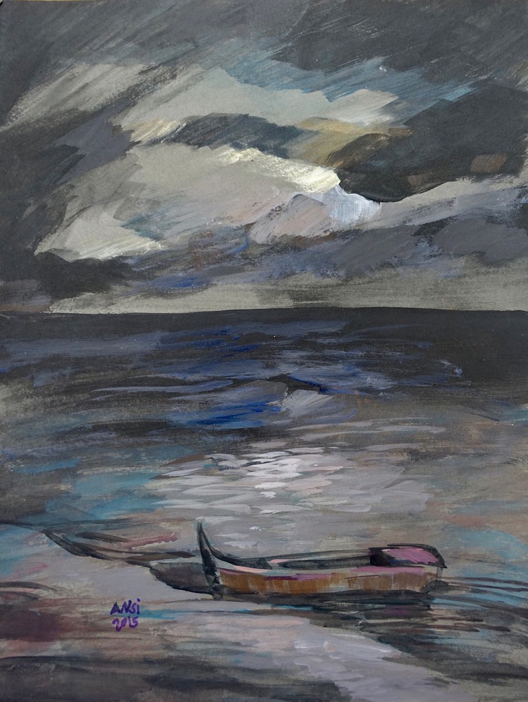 Muhammad Ansi, Black Shore, 2016