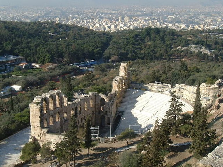 Odeon of Herodes Atticus (Acropolis, Athens, Greece)