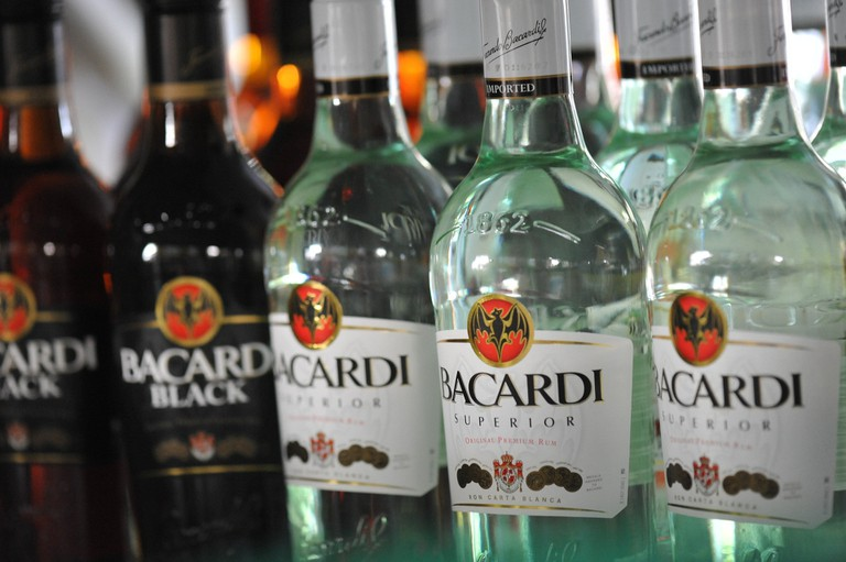 Bacardi products are sold all over the world today