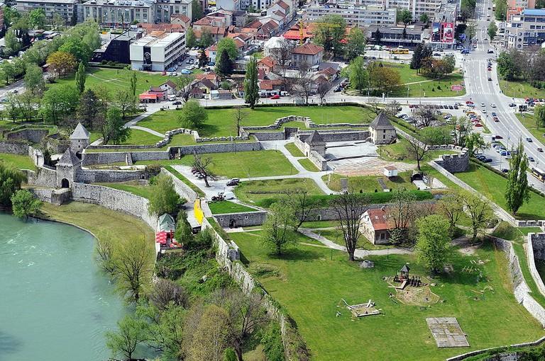 Banja Luka's Roman fortress | © Darko Gavric/WikiCommons
