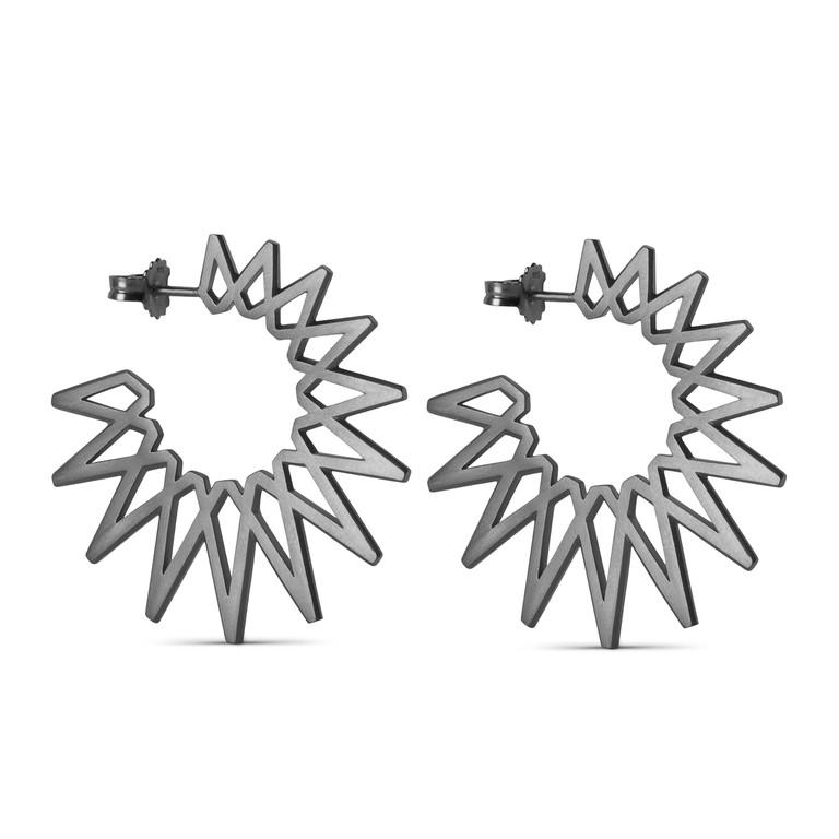 Big Sun earrings