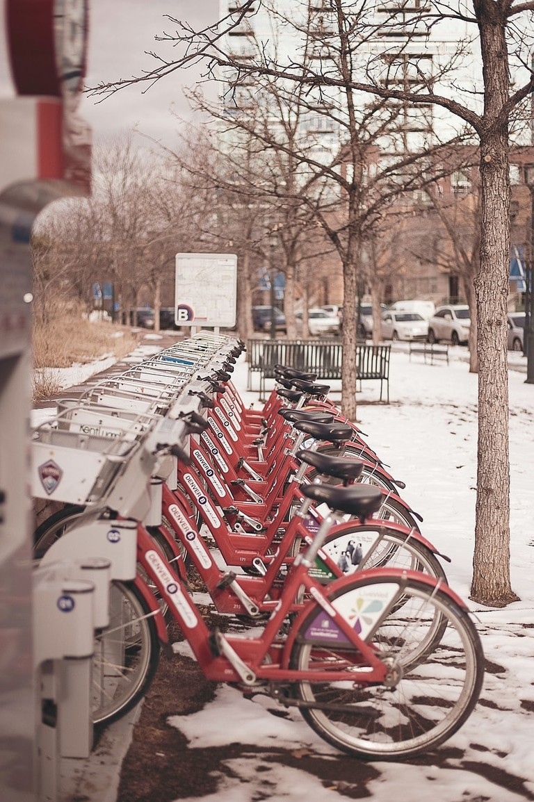 B-Cycle station