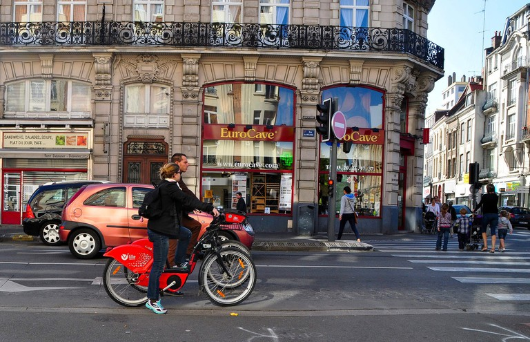Bikes in Lille by Michiel:Flickr