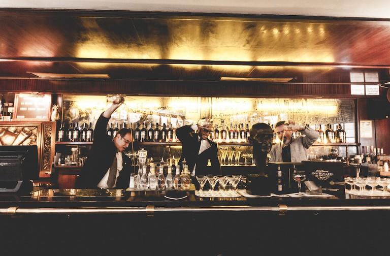 Barmen at work Courtesy of Boadas